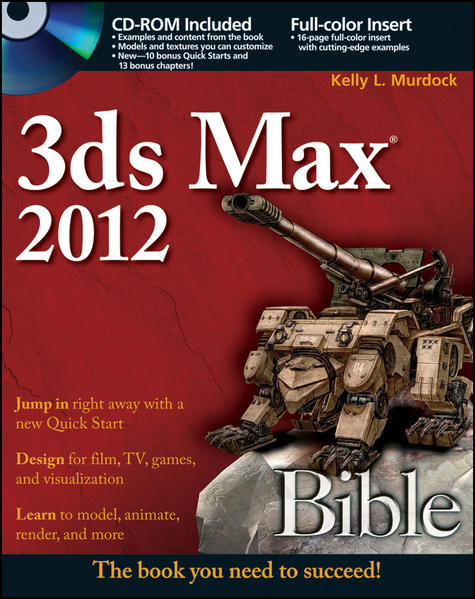 3ds Max 2012 Bible - Coverbild