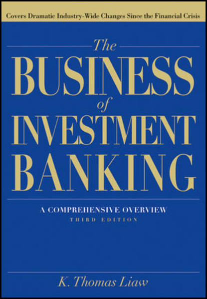 The Business of Investment Banking - Coverbild