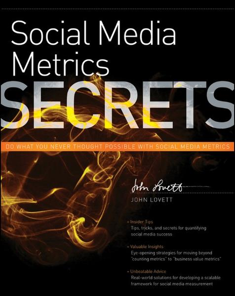Social Media Metrics Secrets - Coverbild