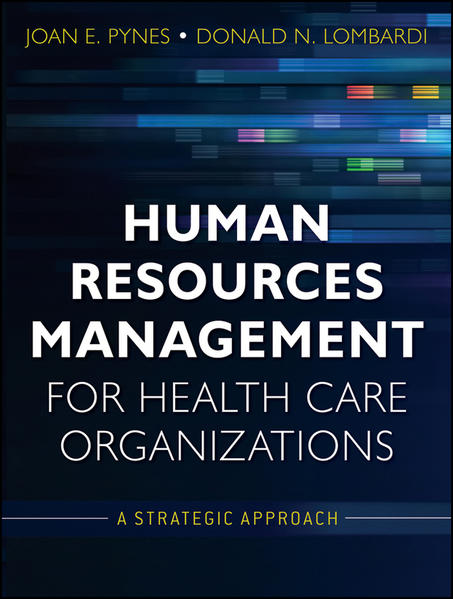 Human Resources Management for Health Care Organizations - Coverbild