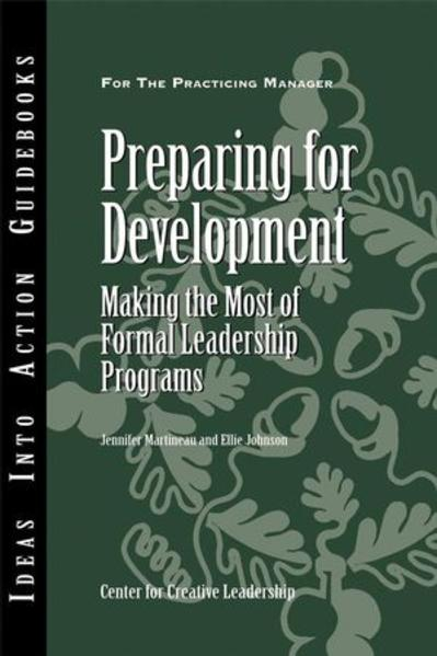 Preparing for Development - Coverbild