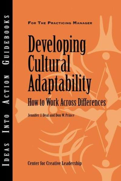 Developing Cultural Adaptability - Coverbild
