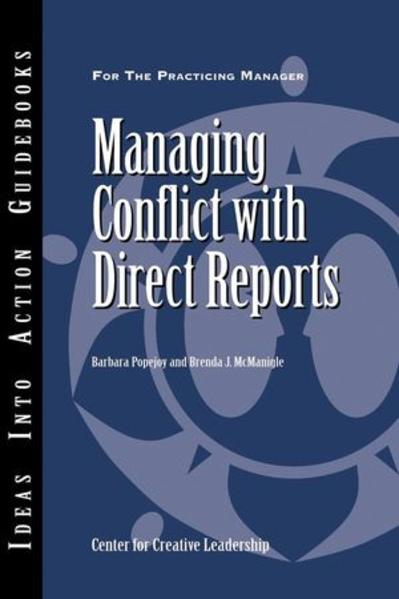 Managing Conflict with Direct Reports - Coverbild