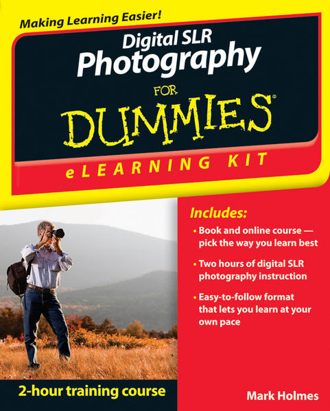 Digital SLR Photography eLearning Kit For Dummies - Coverbild