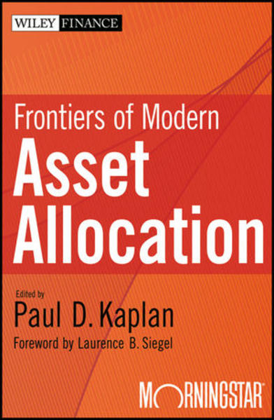 Frontiers of Modern Asset Allocation - Coverbild