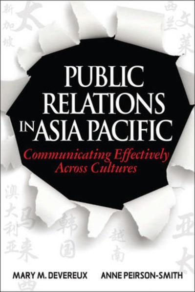 Public Relations in Asia Pacific - Coverbild