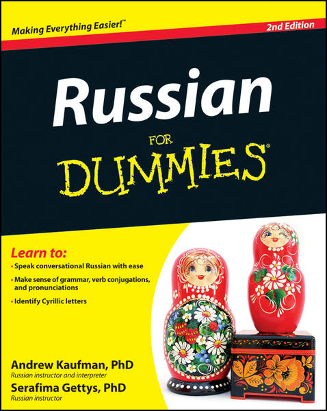 Russian For Dummies - Coverbild