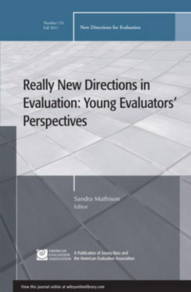 Really New Directions in Evaluation - Coverbild