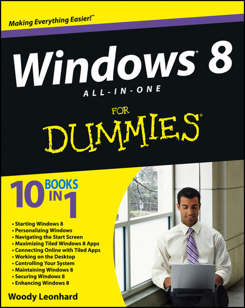 Windows 8 All-in-One For Dummies - Coverbild