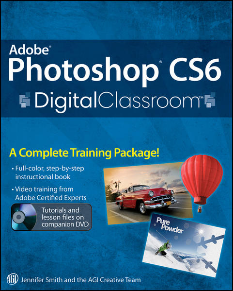 Adobe Photoshop CS6 Digital Classroom - Coverbild