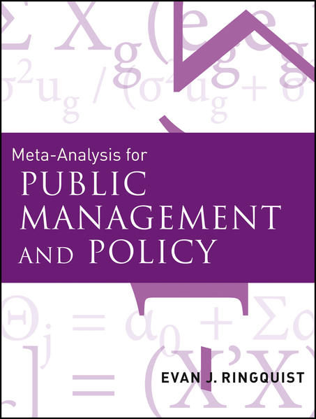 Meta-Analysis for Public Management and Policy - Coverbild