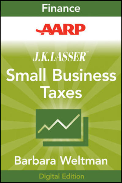 AARP J.K. Lasser's Small Business Taxes 2010 - Coverbild