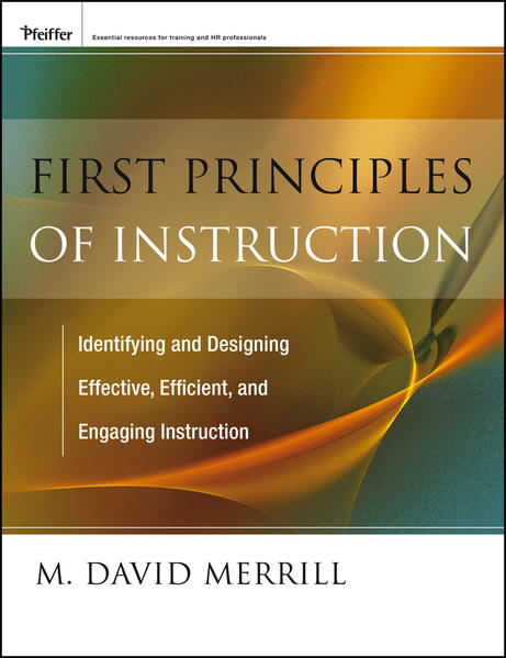 First Principles of Instruction - Coverbild