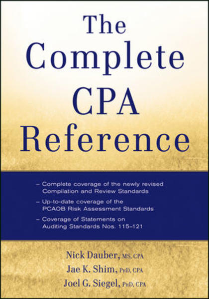 The Complete CPA Reference - Coverbild