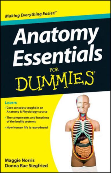 Anatomy Essentials For Dummies - Coverbild