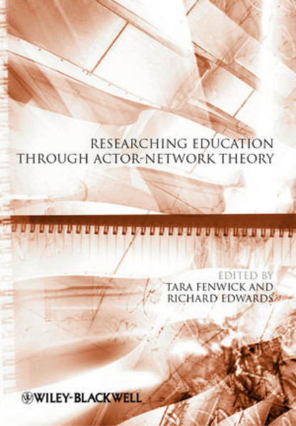Researching Education Through Actor-Network Theory - Coverbild