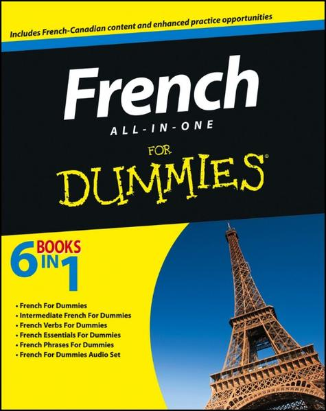 French All-in-One For Dummies - Coverbild