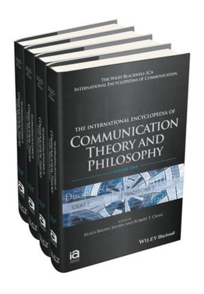 The International Encyclopedia of Communication Theory and Philosophy, 4 Volume Set - Coverbild