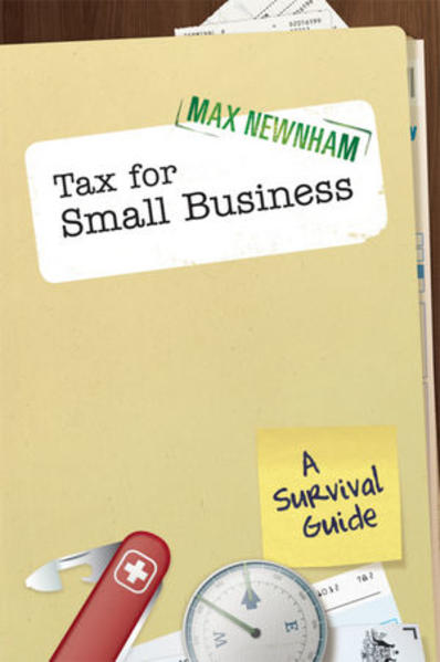 Tax For Small Business - Coverbild