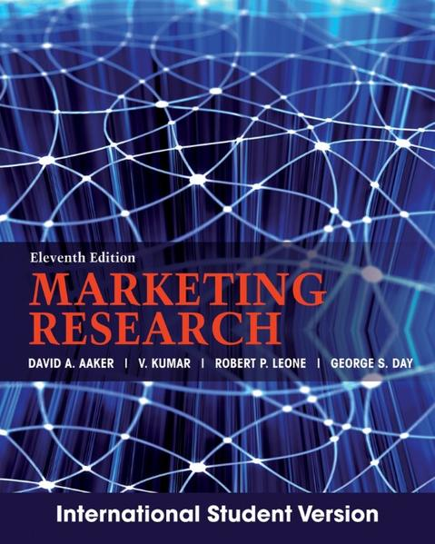 Marketing Research - Coverbild