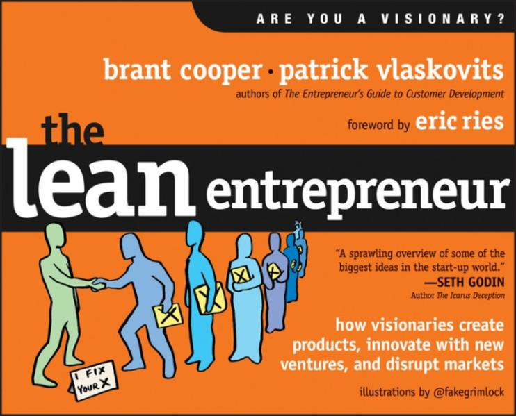 The Lean Entrepreneur - Coverbild