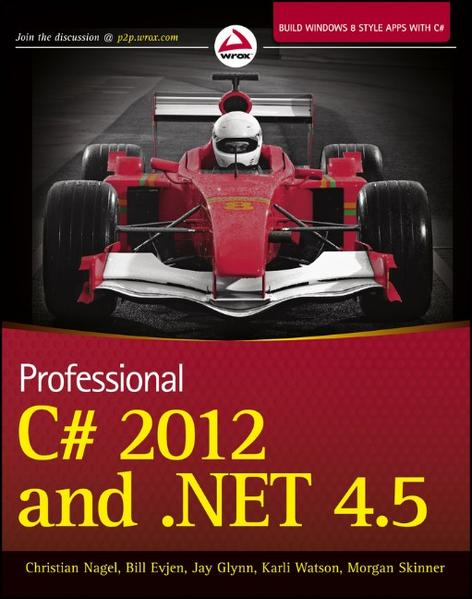 Professional C# 2012 and .NET 4.5 - Coverbild