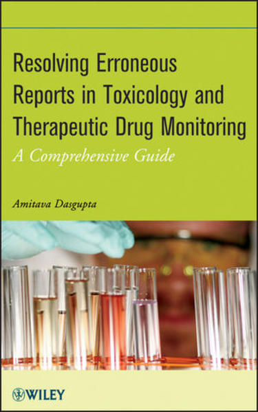 Resolving Erroneous Reports in Toxicology and Therapeutic Drug Monitoring - Coverbild