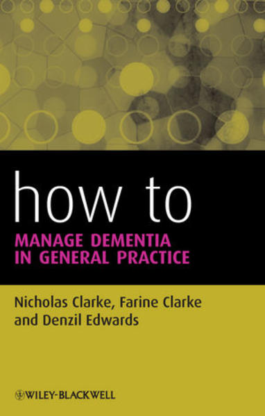 How to Manage Dementia in General Practice - Coverbild