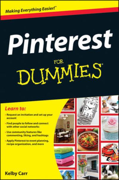 Pinterest For Dummies - Coverbild