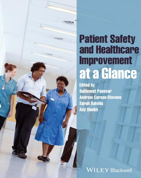 Patient Safety and Healthcare Improvement at a Glance - Coverbild