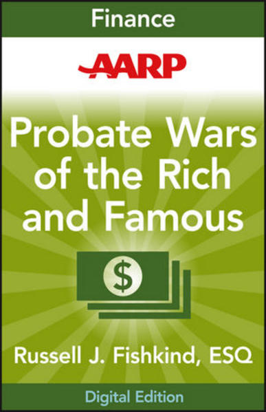 AARP Probate Wars of the Rich and Famous - Coverbild