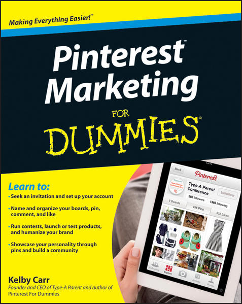 Pinterest Marketing For Dummies - Coverbild