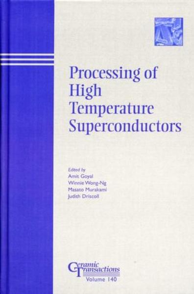 Processing of High Temperature Superconductors - Coverbild