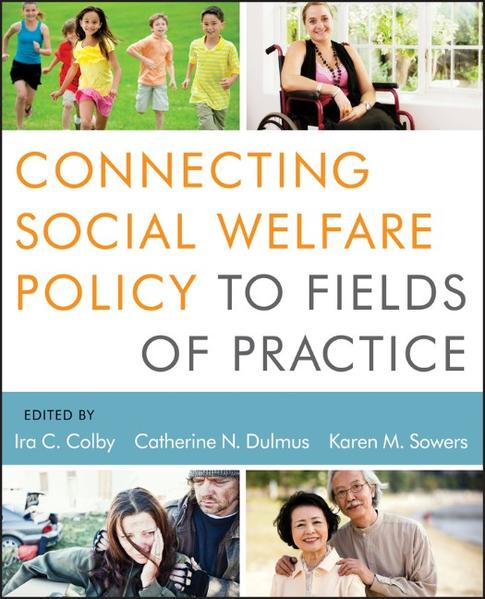 Connecting Social Welfare Policy to Fields of Practice - Coverbild