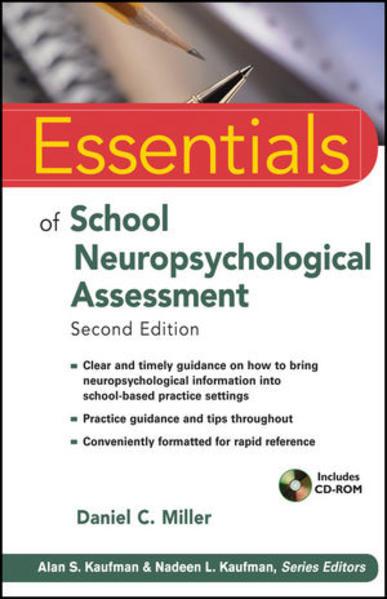 Essentials of School Neuropsychological Assessment - Coverbild