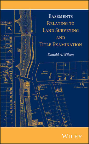 Easements Relating to Land Surveying and Title Examination - Coverbild