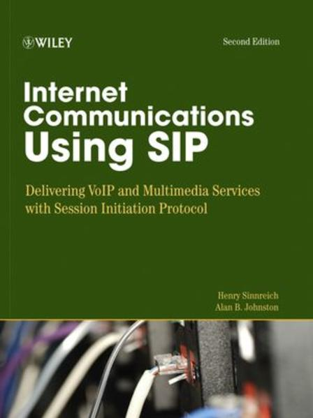 Internet Communications Using SIP - Coverbild