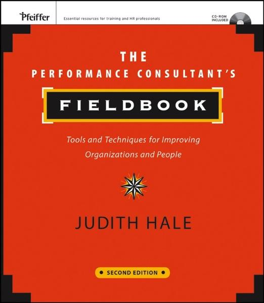 The Performance Consultant's Fieldbook - Coverbild