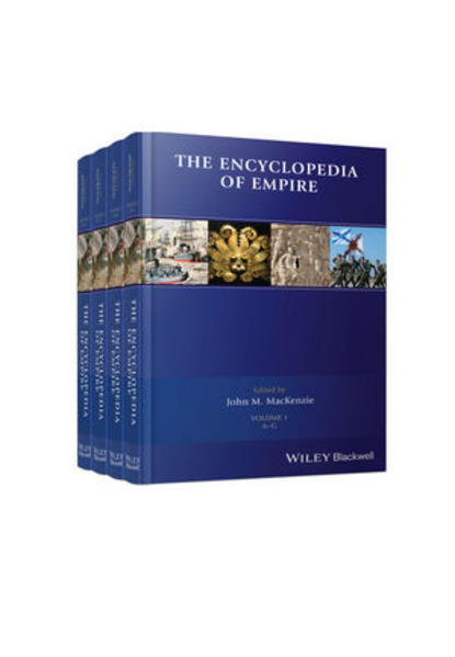 The Encyclopedia of Empire, 4 Volume Set - Coverbild