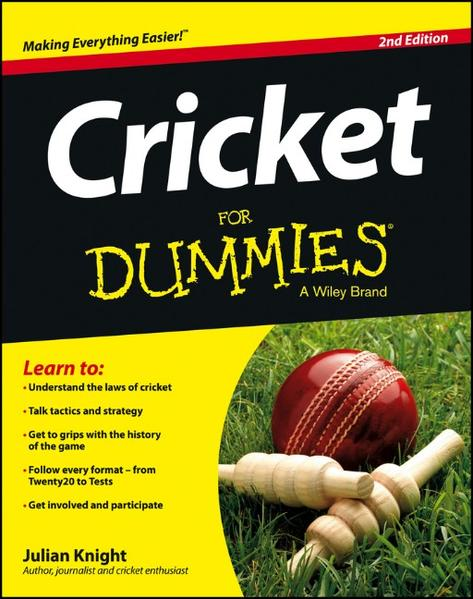 Cricket For Dummies - Coverbild