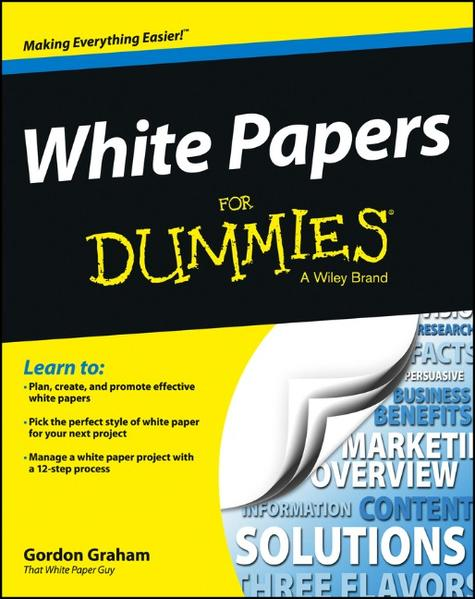 White Papers For Dummies - Coverbild