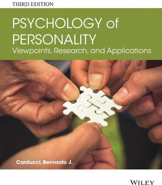 Psychology of Personality - Coverbild