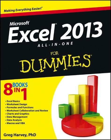 Excel 2013 All-in-One For Dummies - Coverbild