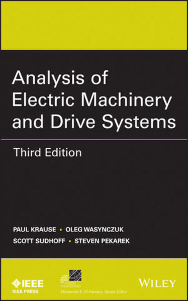 Analysis of Electric Machinery and Drive Systems - Coverbild