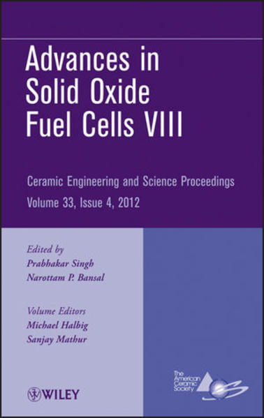 Advances in Solid Oxide Fuel Cells VIII - Coverbild