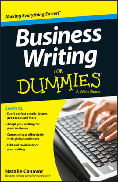 Business Writing For Dummies - Coverbild