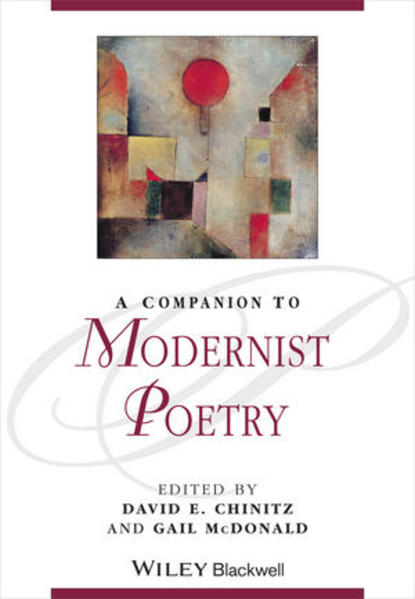 A Companion to Modernist Poetry - Coverbild