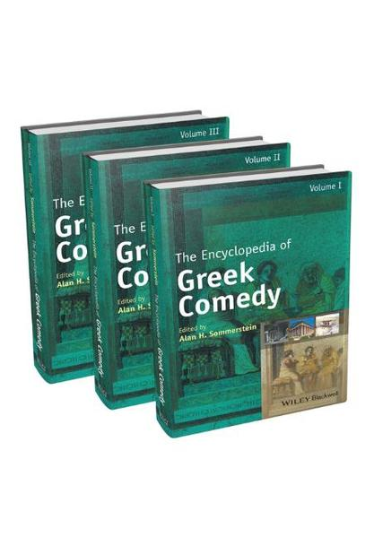 The Encyclopedia of Greek Comedy - Coverbild