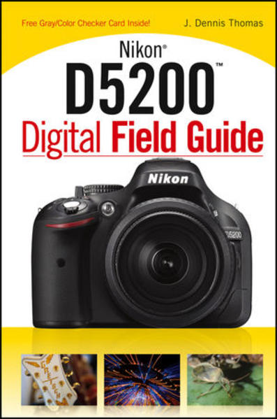 Nikon D5200 Digital Field Guide - Coverbild