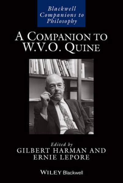 A Companion to W. V. O. Quine - Coverbild